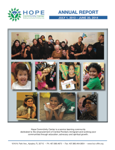 Annual Report 2013-14 Front Cover