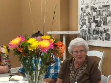 Congratulations to Sr. Gail for 60 years of service to the community as a Sister of Notre Dame De Namur